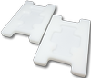 Microscope slide adapters for centrifuge